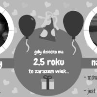 2,5 latek - najlepszy i najgorszy wiek.