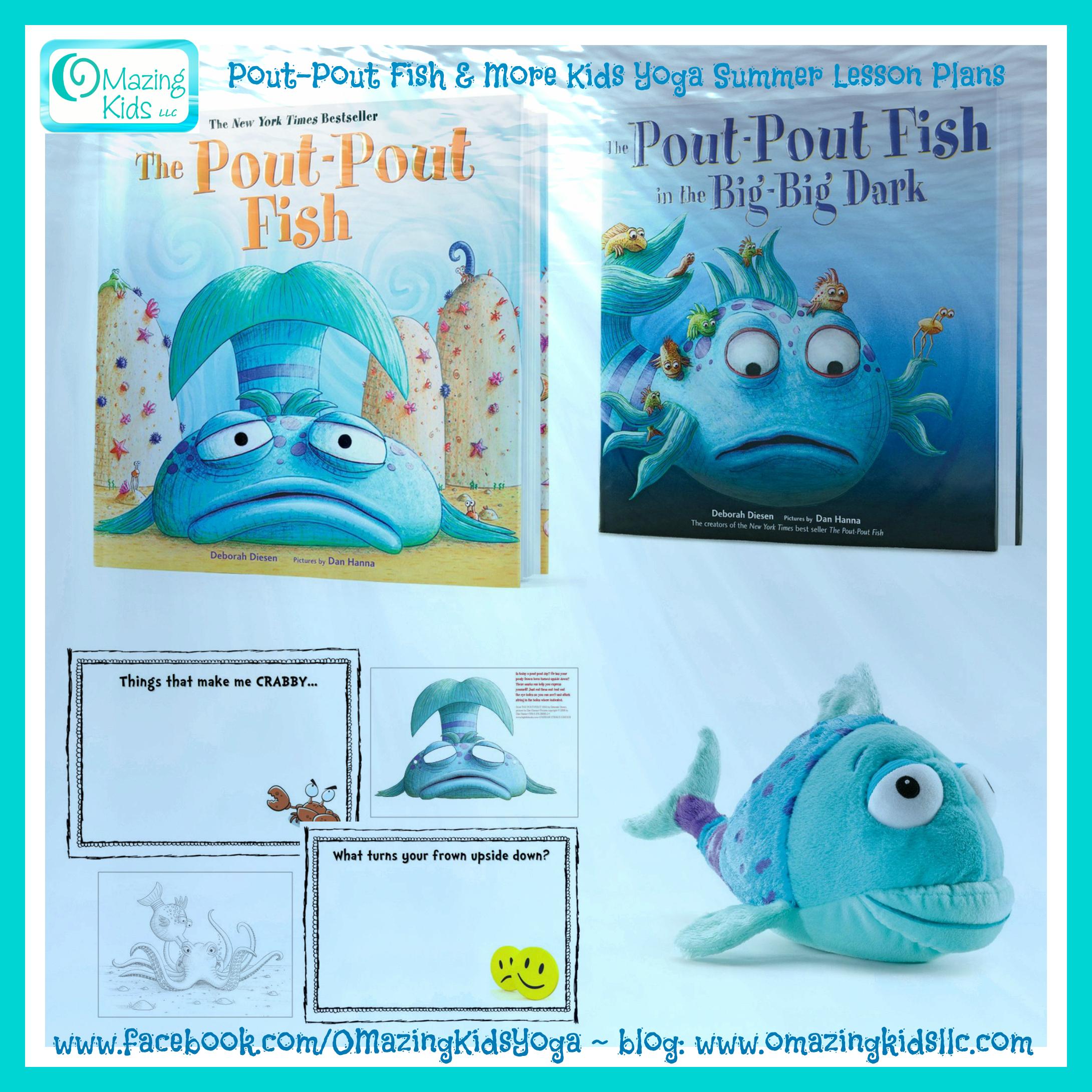Pout Pout Fish Lesson Plan Plus Summer Themed Books Music