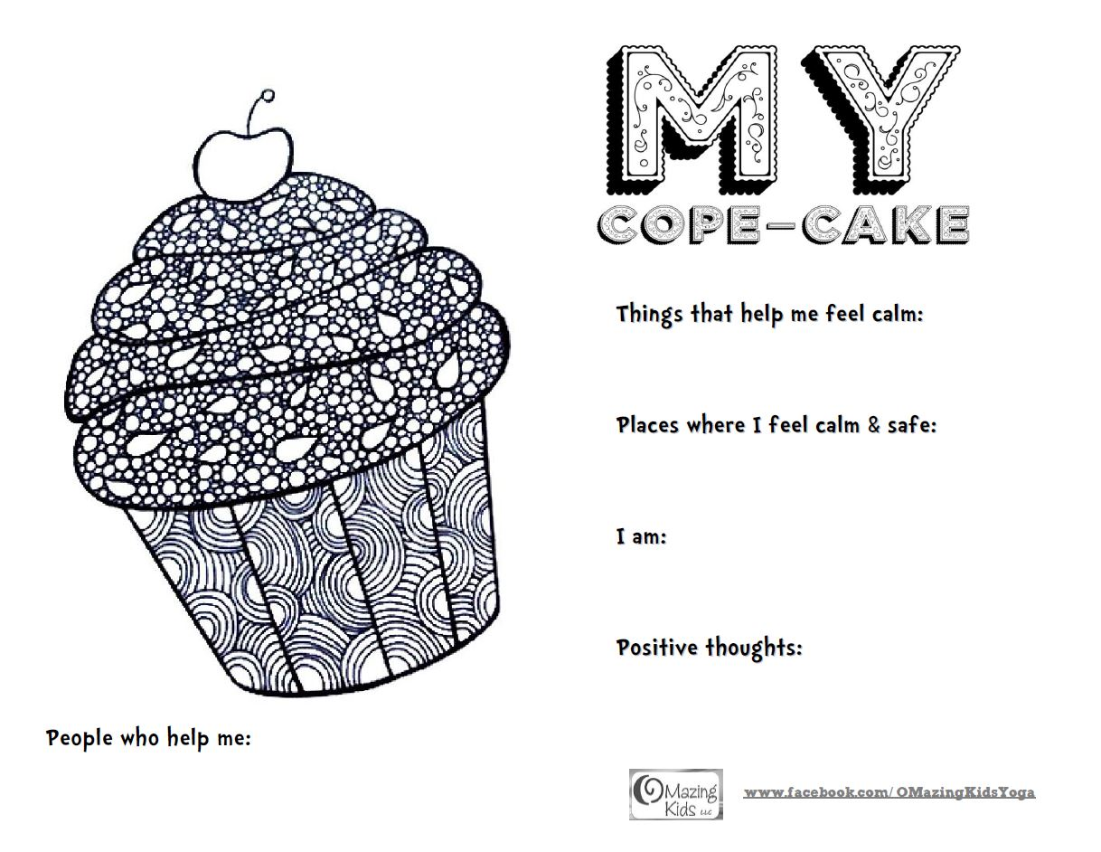 My Cope Cake Free Printable From Omazing Kids