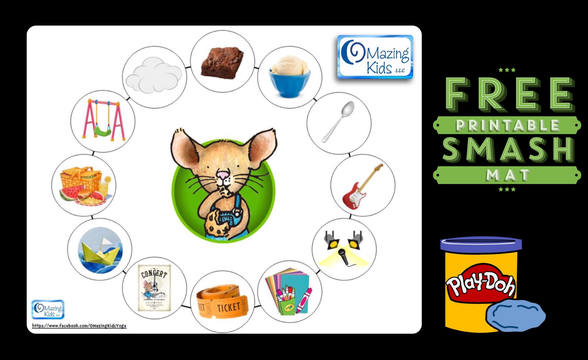 Free Printable If You Give A Mouse A Brownie Playdoh