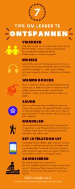 Tips om te ontspannen