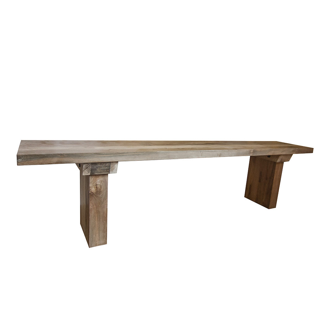 Dining Table With Bench And Chairs 39sunut 39 Reclaimed Wood Dining Table And Bench Set Stunning