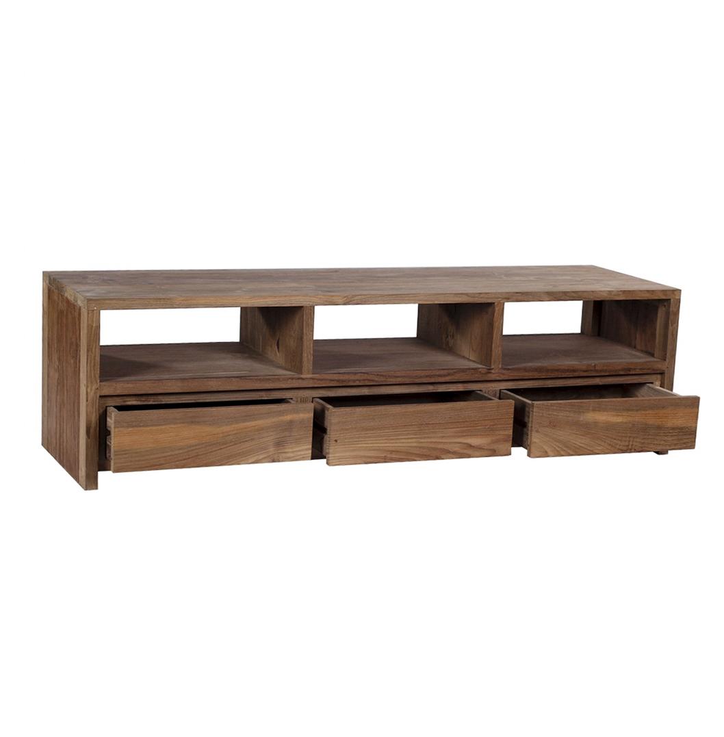 gerupuk reclaimed wood tv stand
