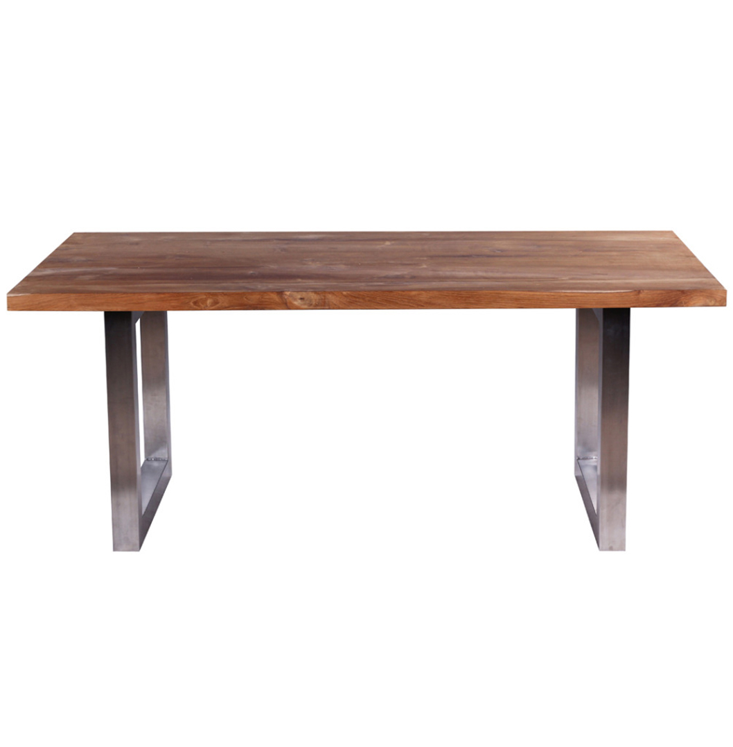 Waja industrial style dining table