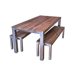 Industrial Dining Table And Chairs Spandex Chair Covers From China Koeta Benches