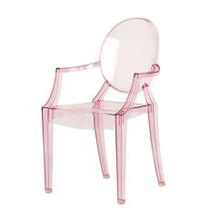 Kids Ghost Chair For Kid Plastic Ombrenelcielo