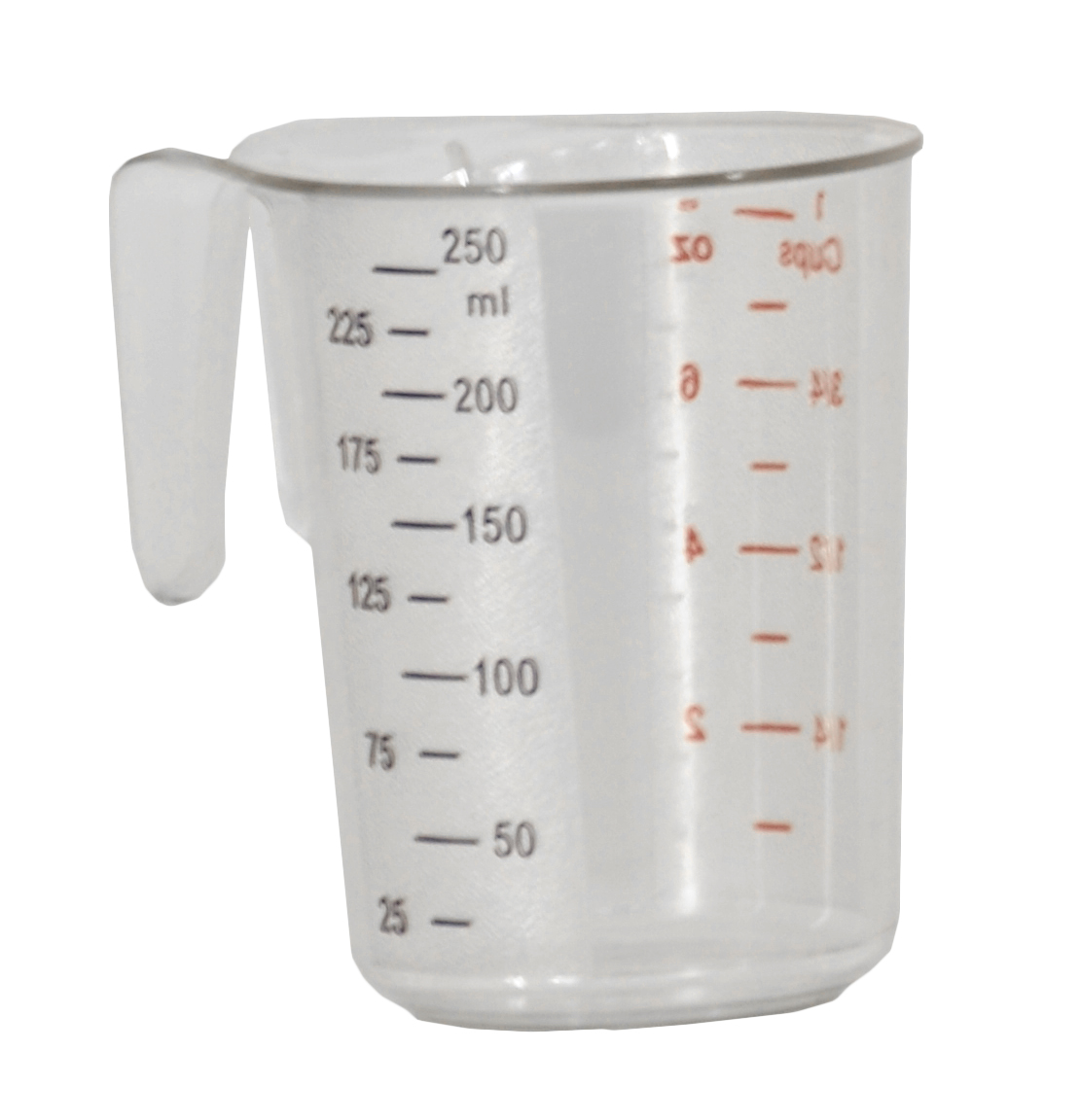 0 26 Qt 250 Ml Clear Polycarbonate Measuring Cup