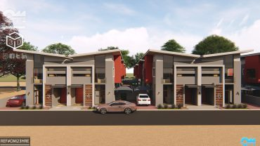 3 Bedroomed Semidetached Bachelor Duplex flat design