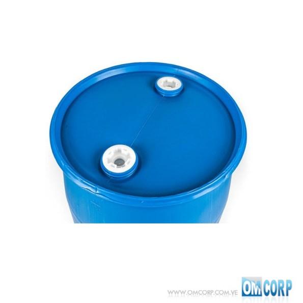 Tambor Plástico 208 Litros Azul Cerrado con tapas MIA20565P 1