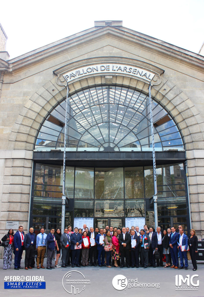 Toma de Protesta de la Organización Mundial de Ciudades Sostenibles Pavillon De L'Arsenal París, Francia