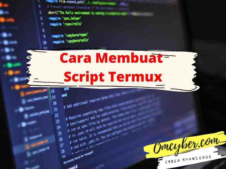 cara membuat script termux