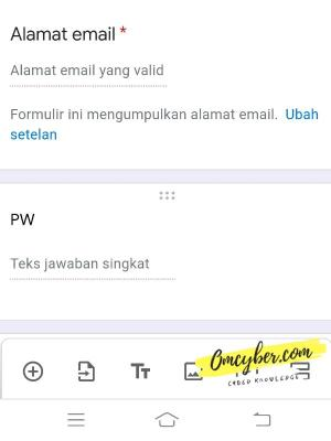 google formulir ff phising sederhana