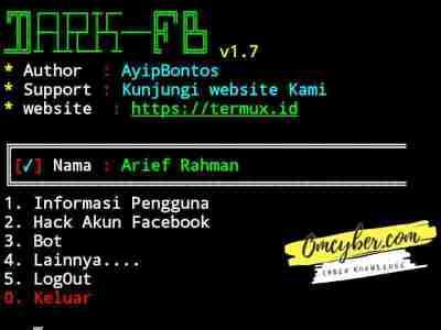 menu script dark fb