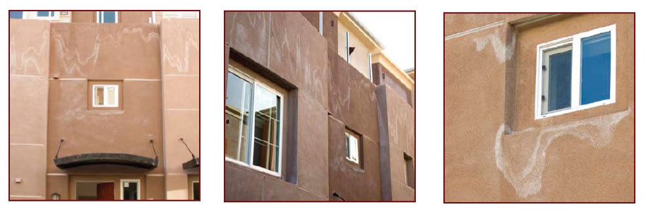 Efflorescence in Stucco