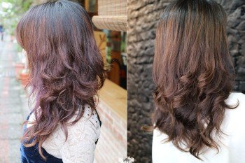 【燙髮】BRAVO Hair Salon。士林站燙髮,日本髮妝熱塑燙,女人味的浪漫手繞捲