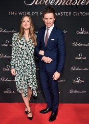 attends the launch of the Globemaster, the worlds first master chronometer, hosted by OMEGA and brand ambassador Eddie Redmayne at Mack Sennett Studios on March 1, 2016 in Los Angeles, California.