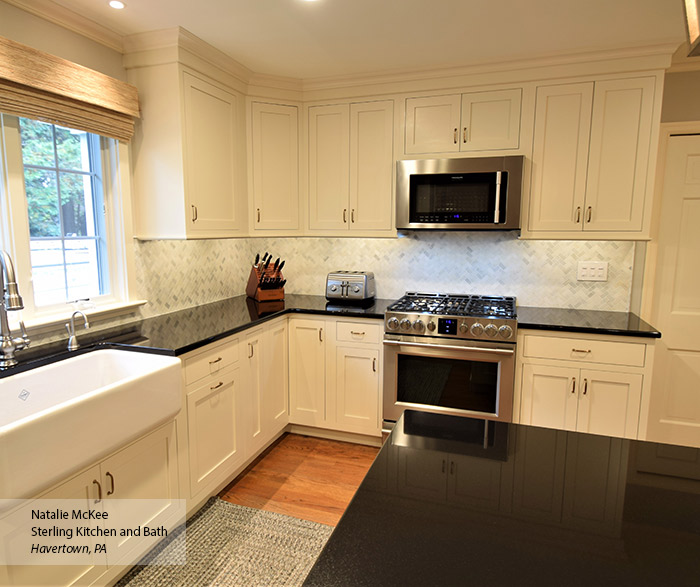 Kitchen Pics With White Cabinets Oyster Off White Cabinet Paint On Maple - Omega