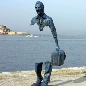 """""""Les Voyageurs"""" by Bruno Catalano"""