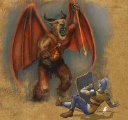 Descriptions of Satanic Woe (Revelation 9:1-12)