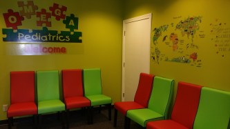 PediatricOfficeGeorgiaEmptyWaitingRoom