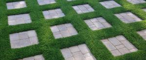 OmegaTurf square stones