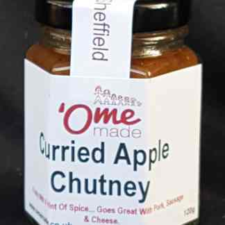 Curried Apple Chutney fro Ome Made