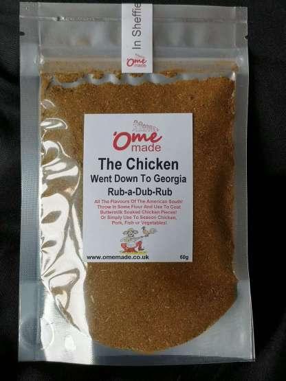 The Chicken Went Down To Georgia Rub-a-Dub-Rub