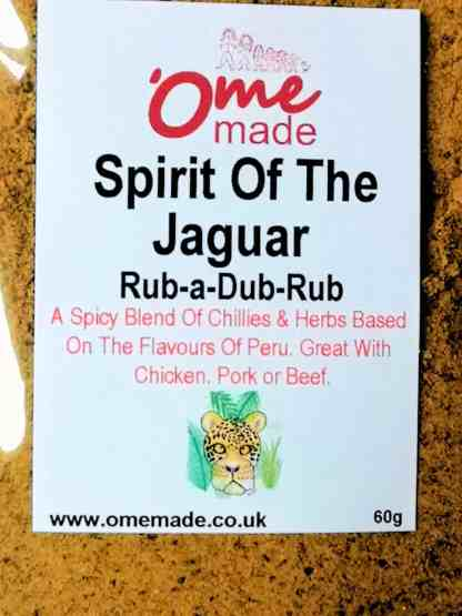 Spirit Of The Jaguar Rub-a-Dub-Rub