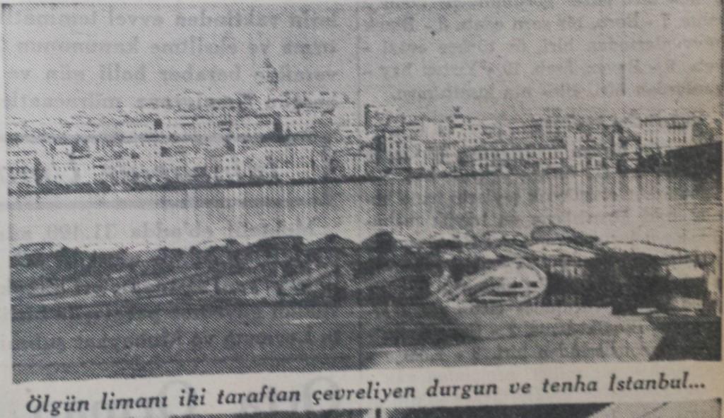 1935 Nüfus sayımında İstanbul