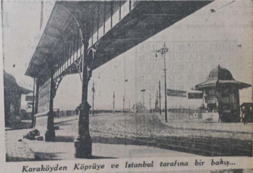 1935 Nüfus sayımında Karaköy