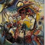 """""""Moscovo I"""", de Kandinsky (1916)"""