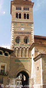 Torre mudéjar da catedral de Teruel