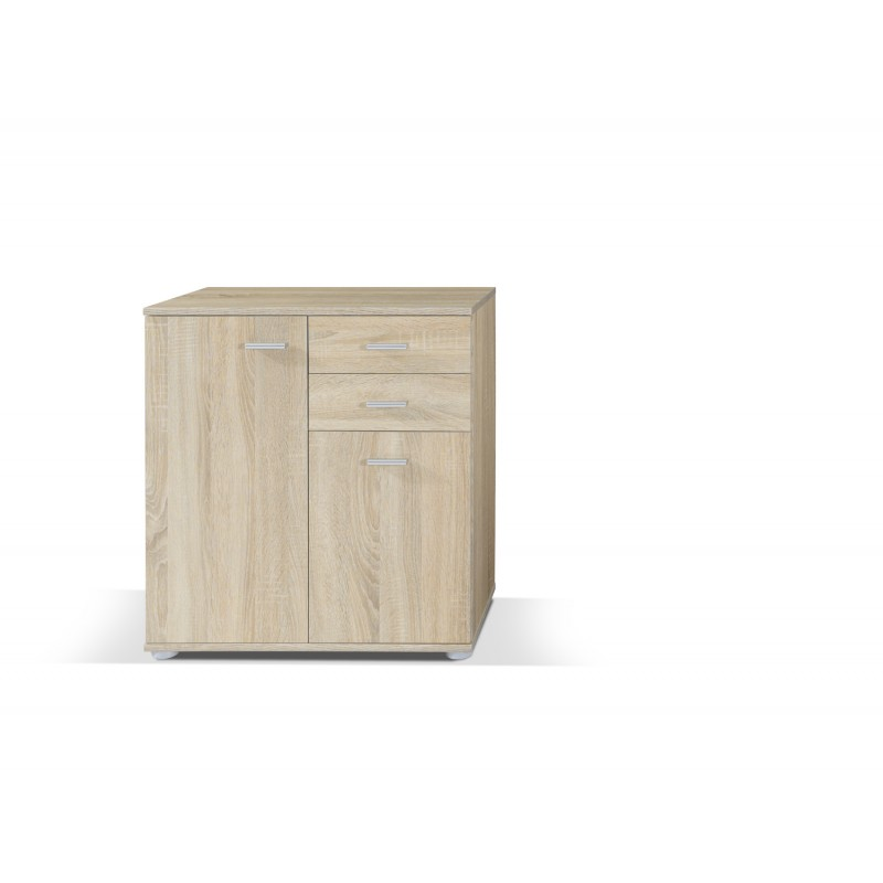 commode 2 portes 2 tiroirs mike 2