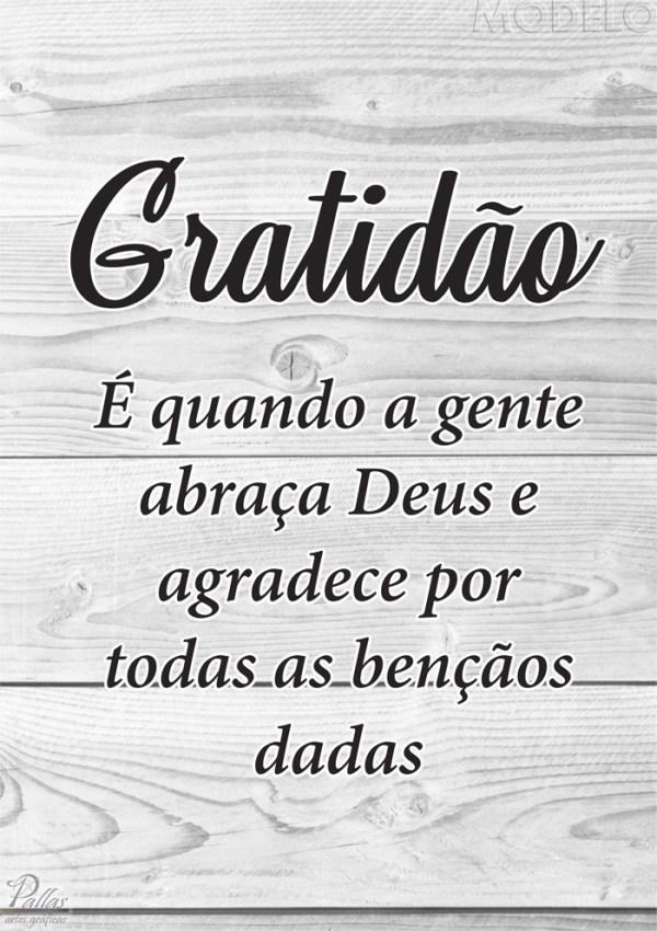 Frases seja grato é a felicidade que você precisa.
