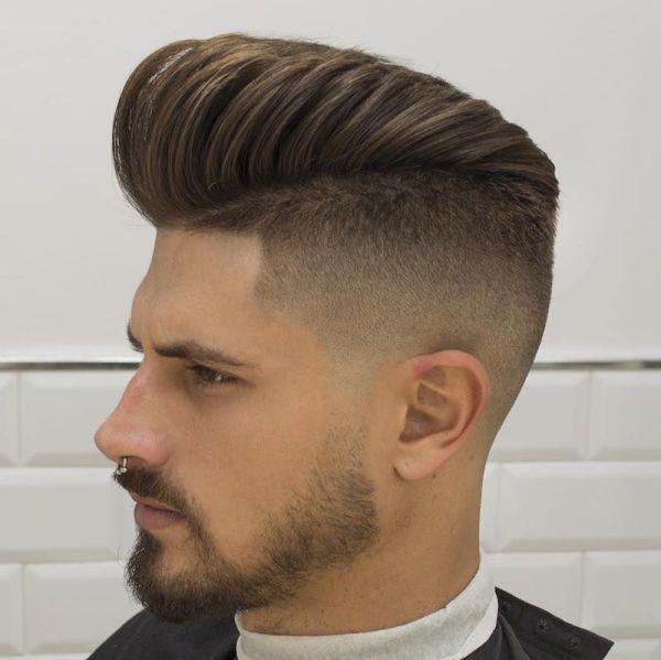 corte masculino em cabelo liso