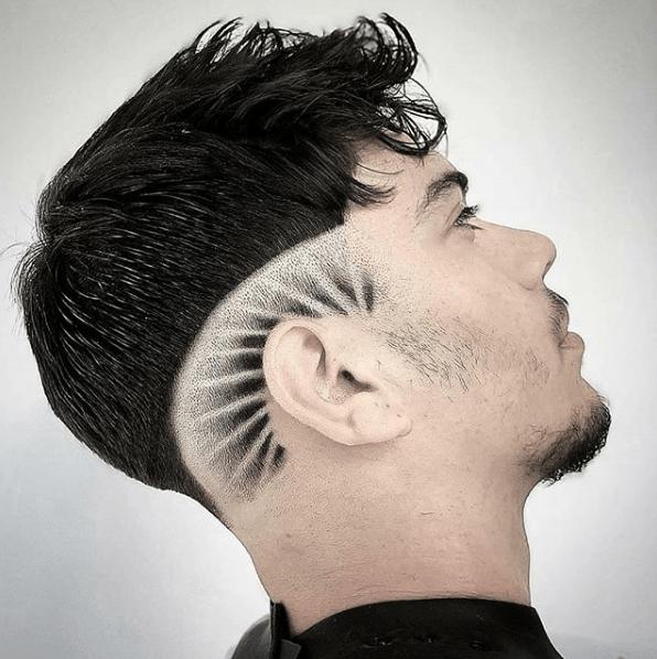corte masculino  espetacular