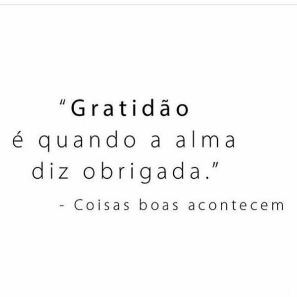 diz frases da gratidão vida