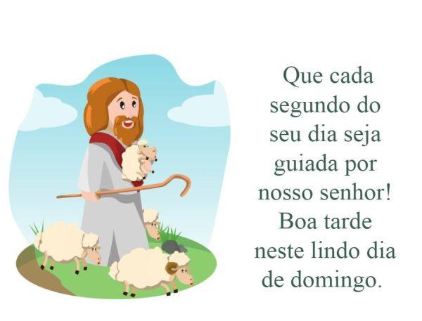 boa tarde domingo guiada por Deus