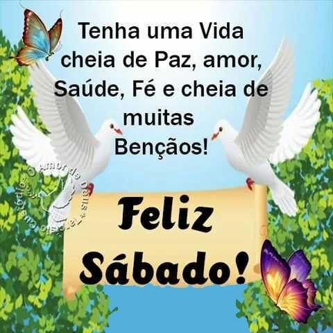 Feliz sábado com muitas bençãos