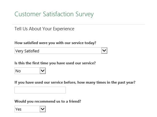 customer service surveys templates - April.onthemarch.co