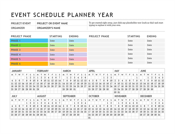 monthly event calendar template - April.onthemarch.co