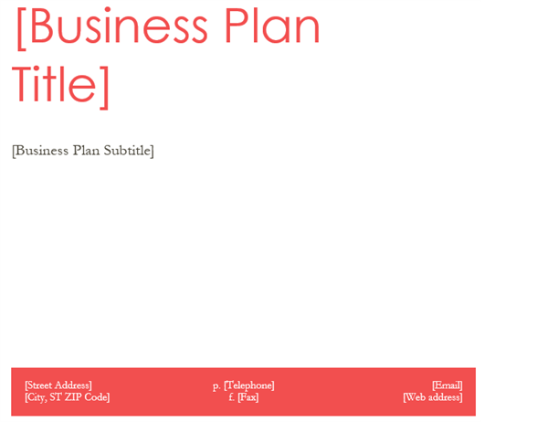 non profit business plan template word - April.onthemarch.co