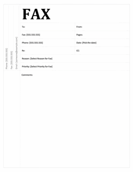 Ideas Of Fax Cover Letter Template Word For Service