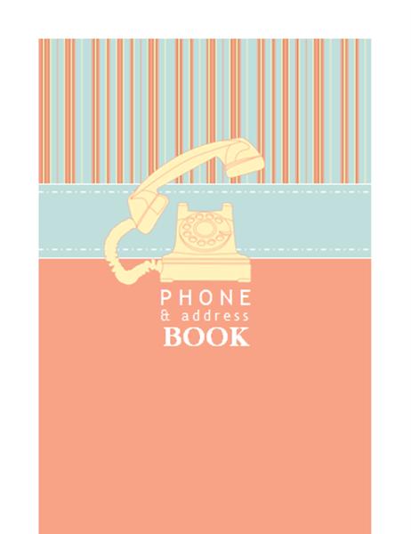 address and phone books