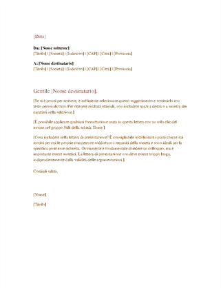 Lettere Officecom