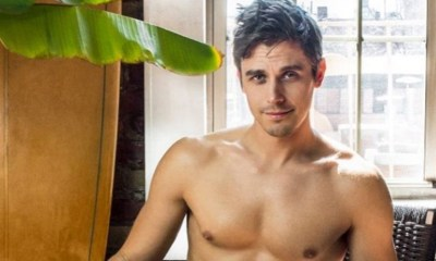 'Queer Eye' star Antoni Porowski shows off his Hanes