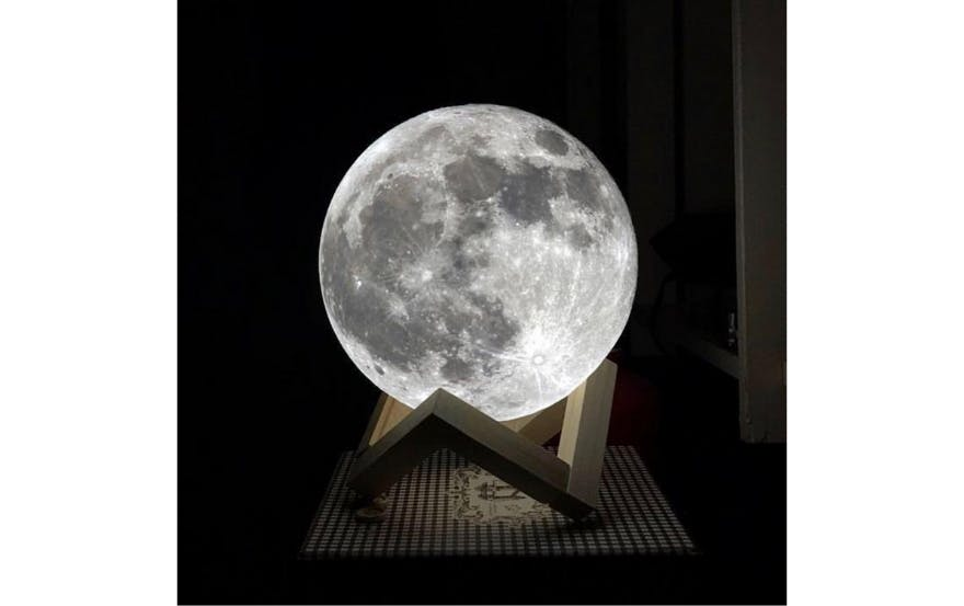 Valentine's Day Gift #10: Moon Lamp