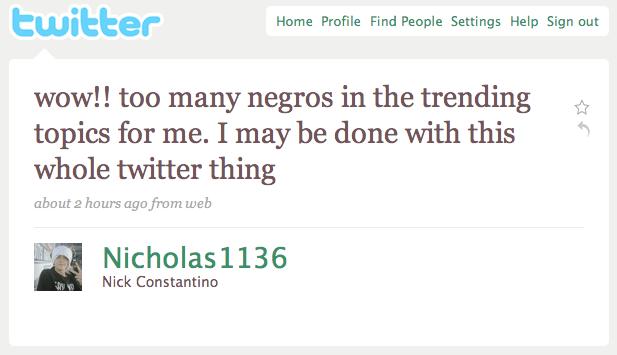 Too Many Negros