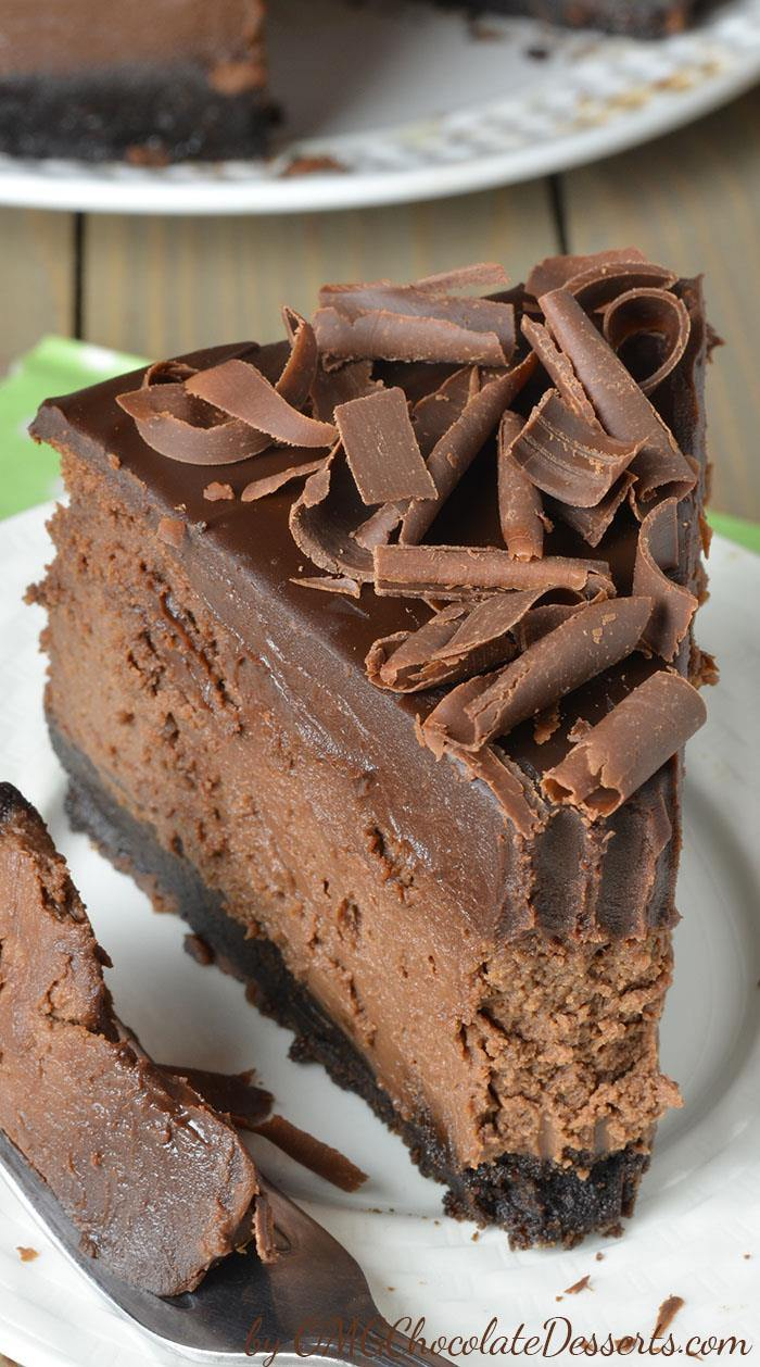 Triple Chocolate Mousse Tart