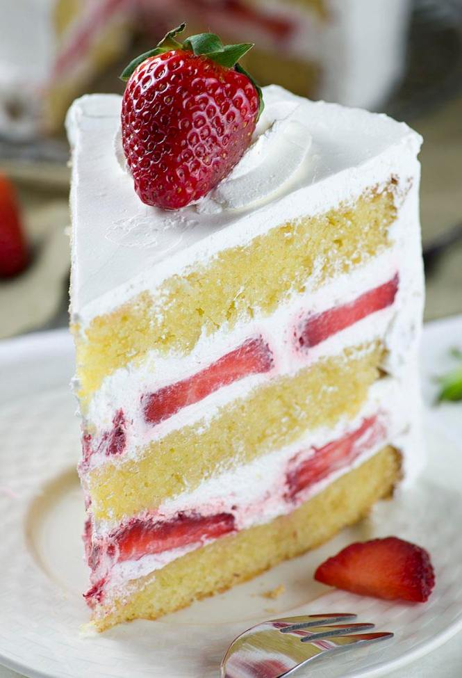 Fresh Strawberry Cake Filling Recipes - The Best Cake Of 2018